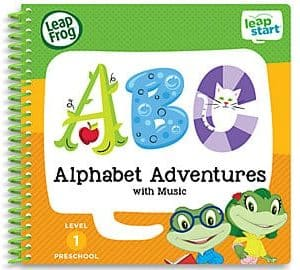 LeapFrog SG-LeapStart Alphabet Adventures With Music