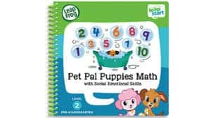 LeapFrog SG-LeapStart Pet Pal Puppies Math with Social Emotional Skills