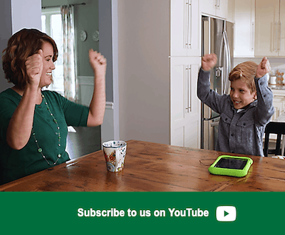 LeapFrog SG-Like us on YouTube