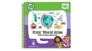 LeapFrog SG-LeapStart Kids' World Atlas with Global Awareness